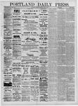 Portland Daily Press: June 18,1881