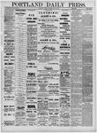 Portland Daily Press: June 21,1881