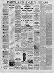 Portland Daily Press: June 22,1881