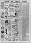 Portland Daily Press: June 25,1881