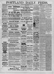 Portland Daily Press: June 28,1881