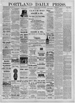 Portland Daily Press: June 30,1881