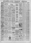 Portland Daily Press: July 04,1881