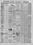 Portland Daily Press: July 06,1881