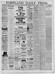 Portland Daily Press: July 07,1881