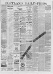 Portland Daily Press: July 08,1881