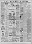 Portland Daily Press: July 12,1881
