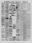 Portland Daily Press: July 14,1881