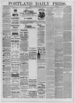 Portland Daily Press: July 16,1881
