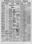 Portland Daily Press: July 20,1881