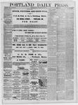 Portland Daily Press: July 22,1881