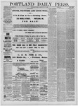 Portland Daily Press: July 23,1881