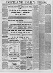 Portland Daily Press: July 25,1881