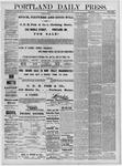 Portland Daily Press: July 26,1881