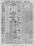 Portland Daily Press: July 27,1881