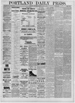 Portland Daily Press: August 03,1881