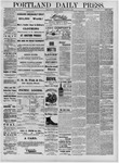 Portland Daily Press: August 04,1881