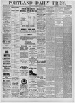 Portland Daily Press: August 05,1881