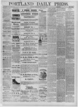 Portland Daily Press: August 09,1881