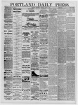 Portland Daily Press: August 10,1881
