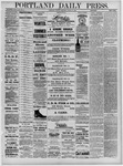 Portland Daily Press: August 16,1881