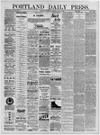 Portland Daily Press: August 17,1881