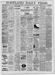Portland Daily Press: August 22,1881