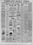 Portland Daily Press: August 24,1881