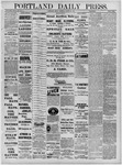 Portland Daily Press: August 26,1881