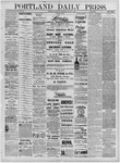 Portland Daily Press: August 27,1881