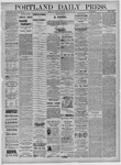 Portland Daily Press: August 29,1881