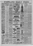 Portland Daily Press: September 01,1881