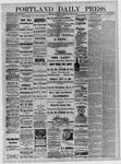 Portland Daily Press: September 03,1881