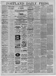 Portland Daily Press: September 05,1881