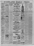 Portland Daily Press: September 06,1881