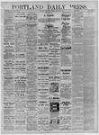 Portland Daily Press: September 07,1881