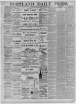 Portland Daily Press: September 10,1881