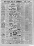 Portland Daily Press: September 12,1881