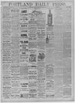Portland Daily Press: September 13,1881