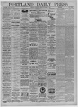 Portland Daily Press: September 14,1881