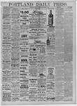 Portland Daily Press: September 15,1881