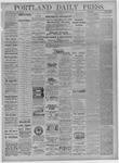 Portland Daily Press: September 16,1881