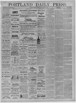 Portland Daily Press: September 17,1881