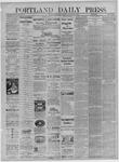 Portland Daily Press: September 21,1881