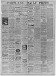 Portland Daily Press: September 23,1881