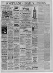 Portland Daily Press: September 24,1881