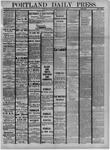 Portland Daily Press: September 26,1881