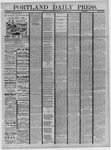 Portland Daily Press: September 28,1881