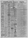 Portland Daily Press: September 30,1881