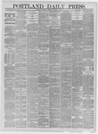 Portland Daily Press: October 06,1881